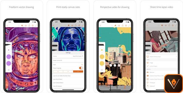 Quali sono le migliori applicazioni da disegnare su iPhone o iPad? Elenco 2019 41