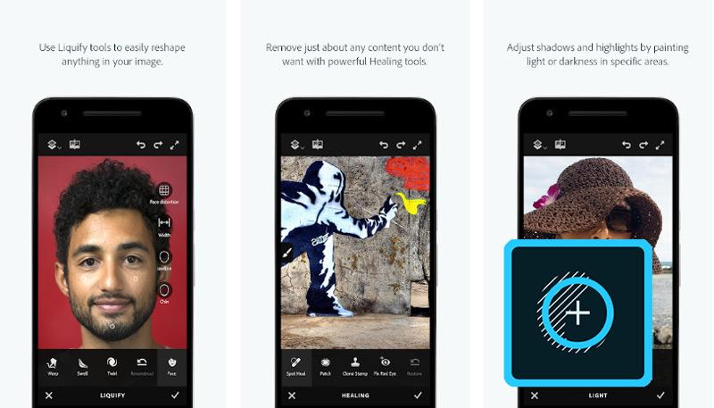 Quali sono le migliori applicazioni per riparare foto gratis come un professionista su Android e iOS? Elenco 2019 10
