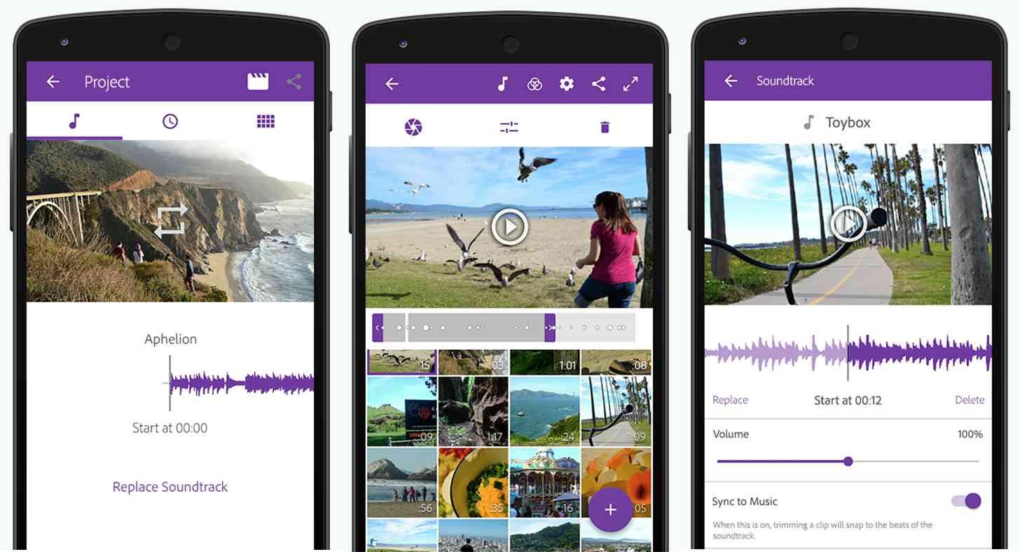 Scarica Adobe Premiere Clip per Android 1