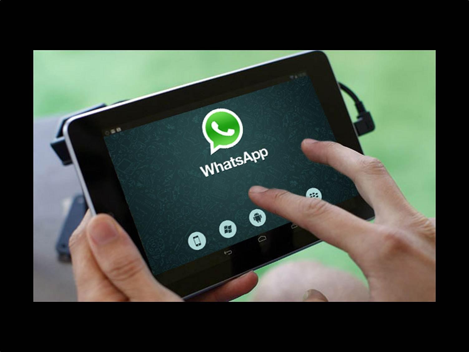 Come aggiungere contatti in WhatsApp per tablet 1