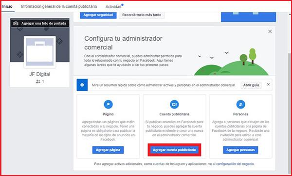 Come creare un account in Facebook Business Manager? Guida passo passo 7