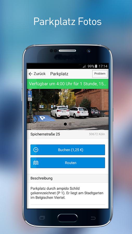 Scarica Ampido per Android. Trova facilmente il parcheggio 2
