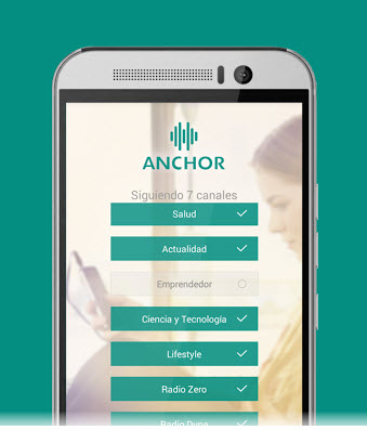 Scarica Anchor per Android. Un social network basato su audio 2
