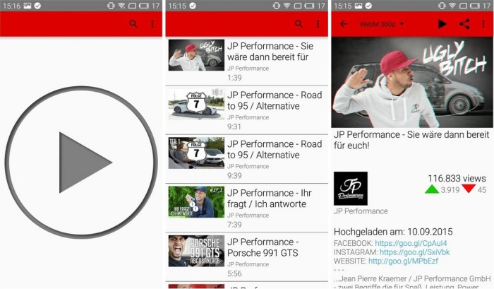 Come installare YouTube senza l'APK di Google Play Services? 1