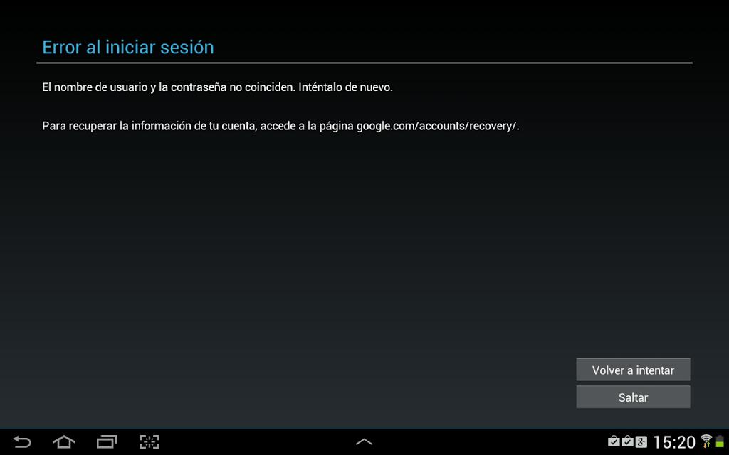 Cosa fare quando un cellulare Android non accetta la tua password? 1