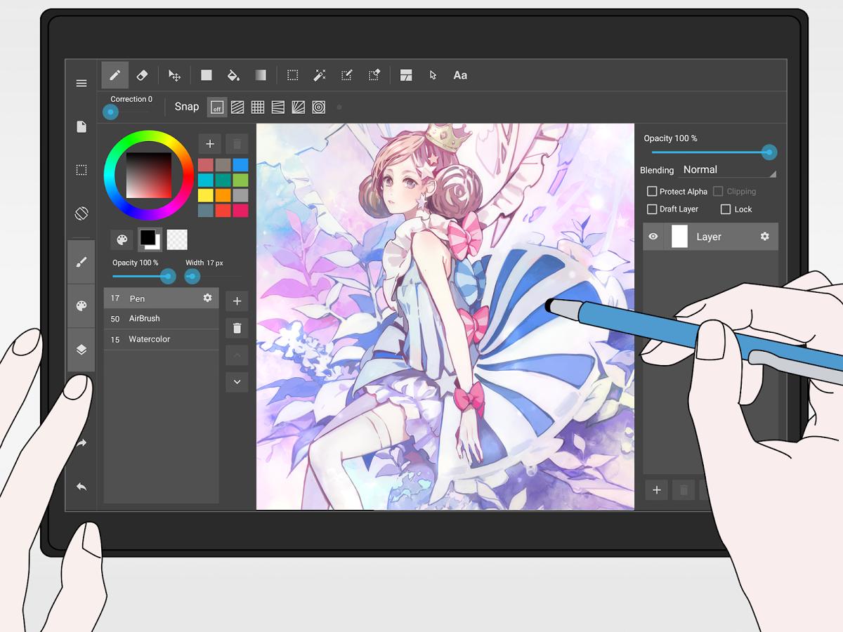 La migliore app per disegnare su Android 2017 1