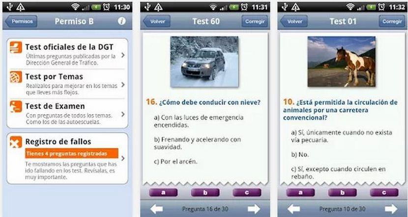 Le migliori applicazioni Android per il test DGT 1