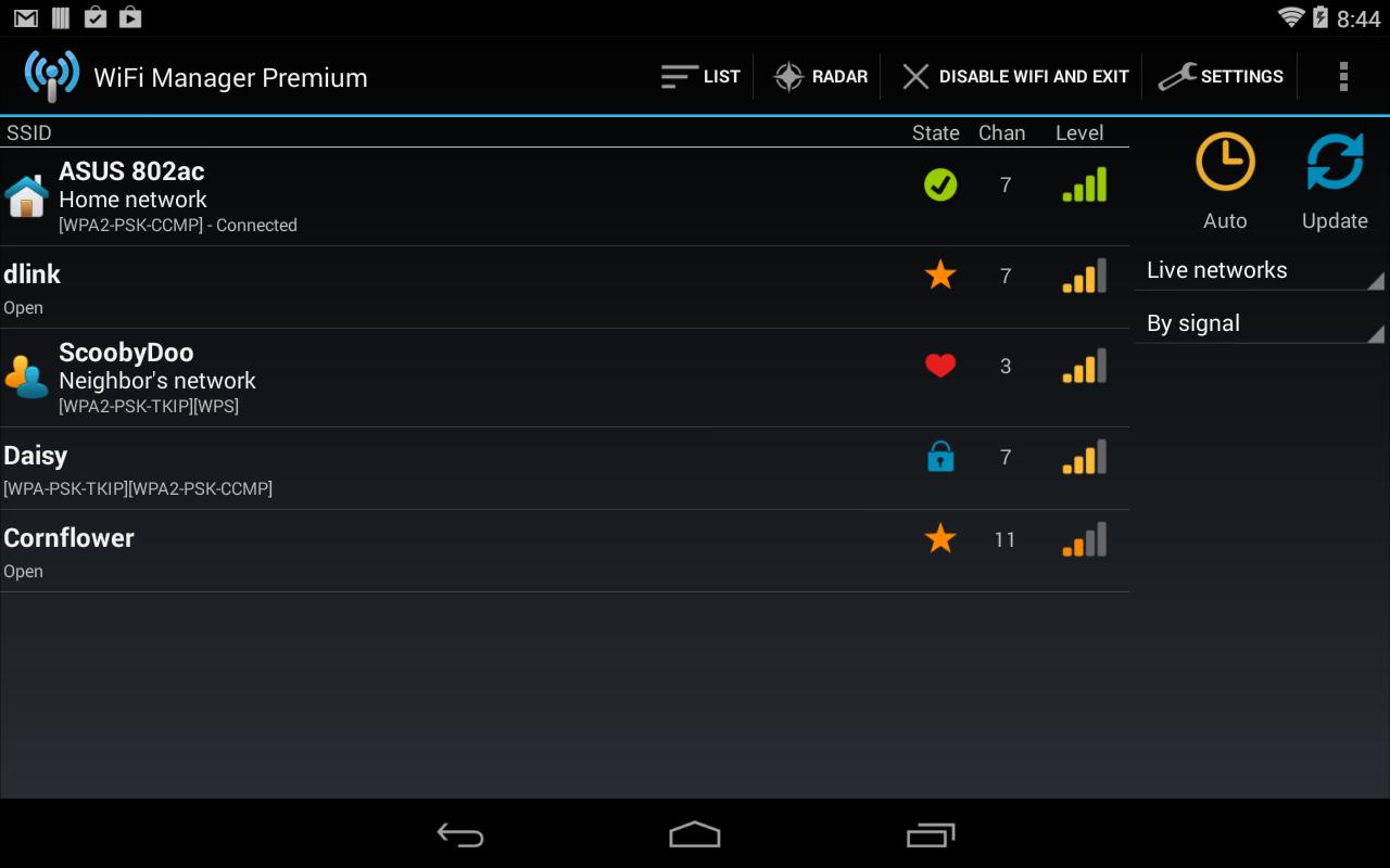 Come decrittografare le chiavi WiFi di un router da Android? 3