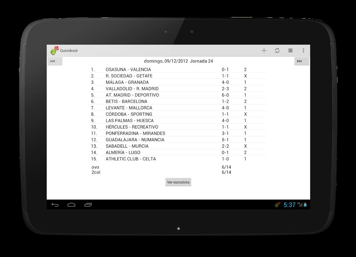 Le 3 migliori app di previsione del pool Android 1