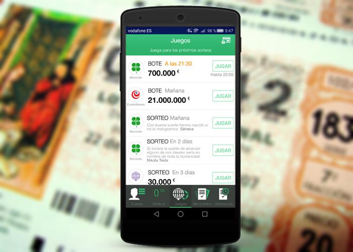 Applicazioni per tracciare i risultati di Euromillions 1