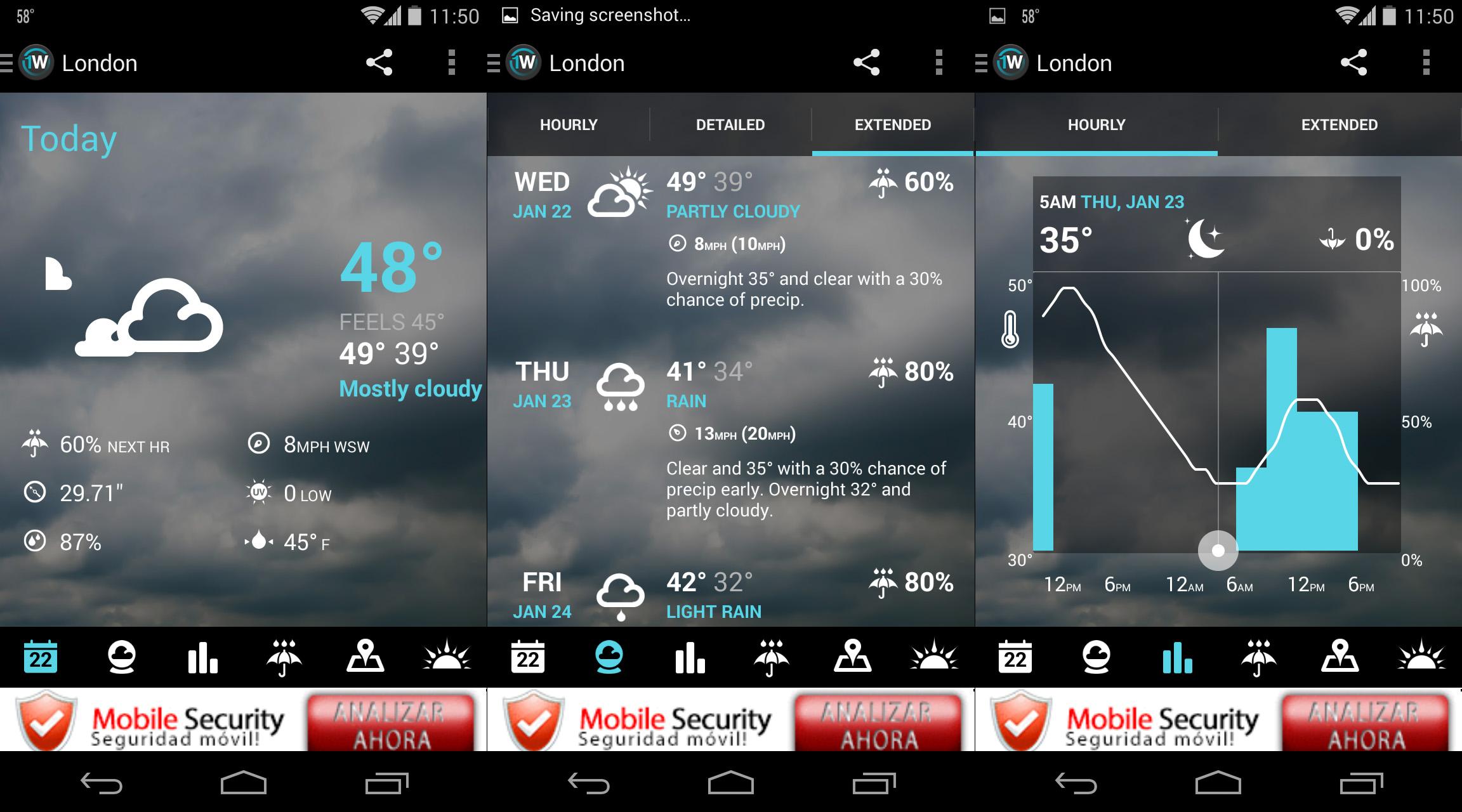 Le migliori applicazioni meteorologiche su Android 3