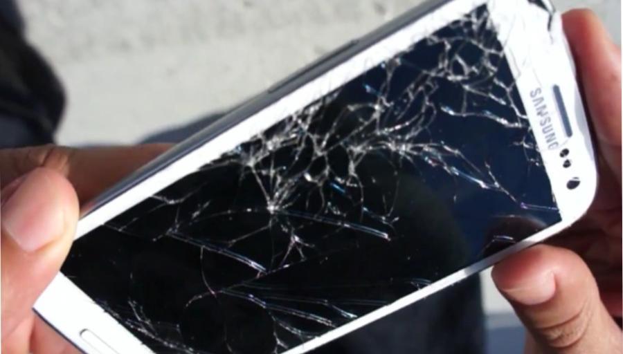 Se il mio schermo mobile si rompe, come posso ripararlo? 1