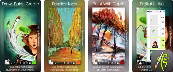 Quali sono le migliori applicazioni da disegnare su iPhone o iPad? Elenco 2019 26