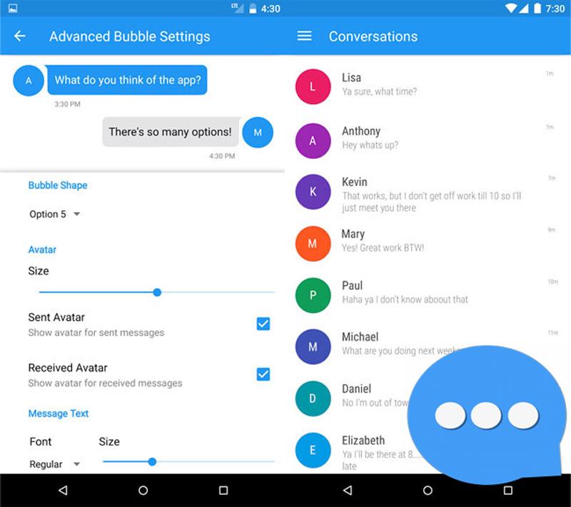 Quali sono le migliori applicazioni per inviare SMS gratis su Android o iPhone? Elenco 2019 4