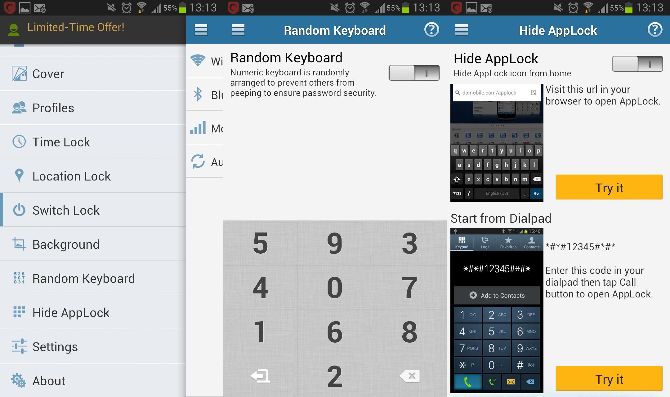 Le migliori app per password per bloccare le applicazioni 1