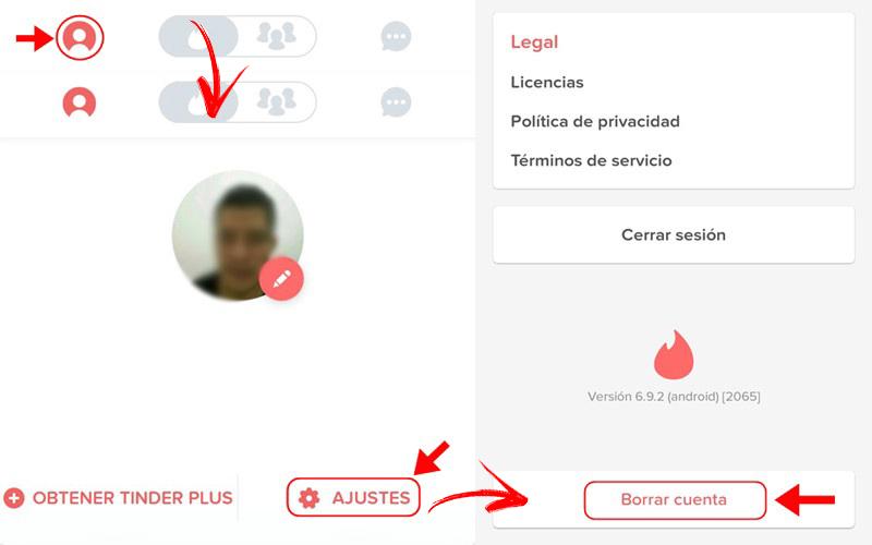 Come eliminare un account Tinder per sempre? Guida passo passo 4