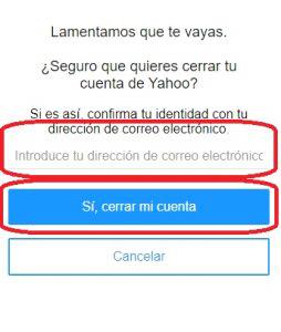 Come eliminare un account Yahoo facile e veloce per sempre? Guida passo passo 4