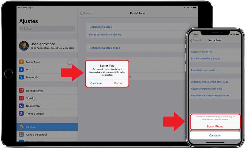 Come eliminare documenti e dati su iPhone o iPad prima di venderli o regalarli? Guida passo passo 3
