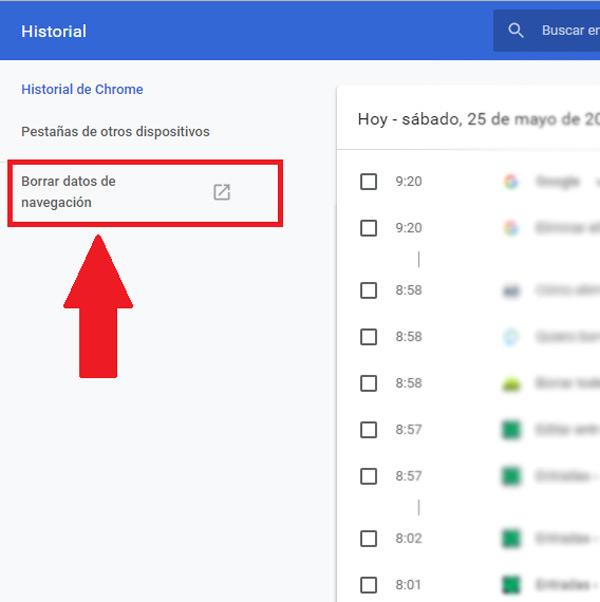 Come eliminare tutto ciò che si vede su Google oggi? Guida passo passo 3