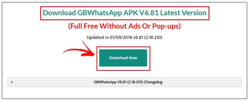 Come aggiornare GBWhatsApp Plus? Guida passo passo 3