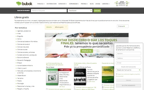 Quali sono le pagine migliori per scaricare libri digitali, ePub, eBook o PDF? Elenco 2019 13