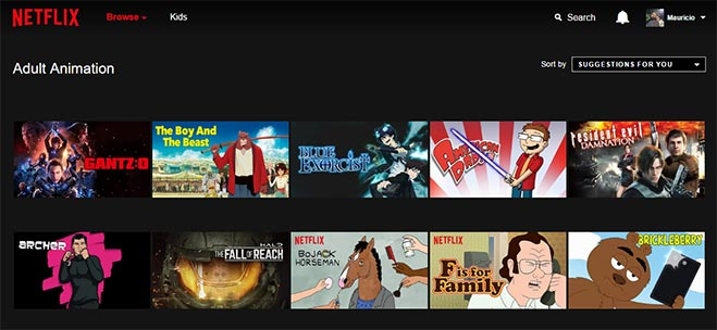 Codici segreti Netflix per guardare film 2017 1