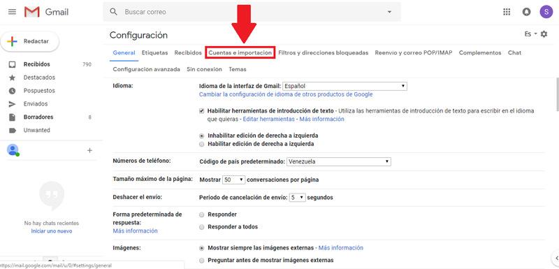 Come modificare l'account Google Gmail predefinito? Guida passo passo 3