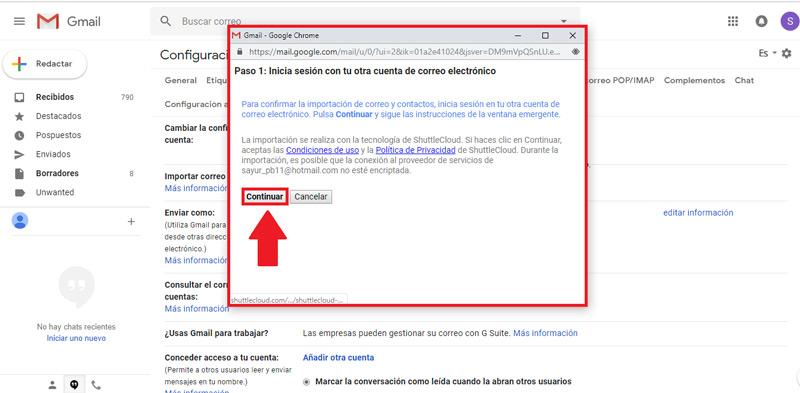 Come modificare l'account Google Gmail predefinito? Guida passo passo 6