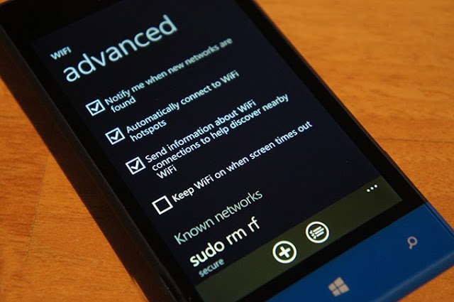 Come aumentare il segnale WiFi su Windows Phone 1