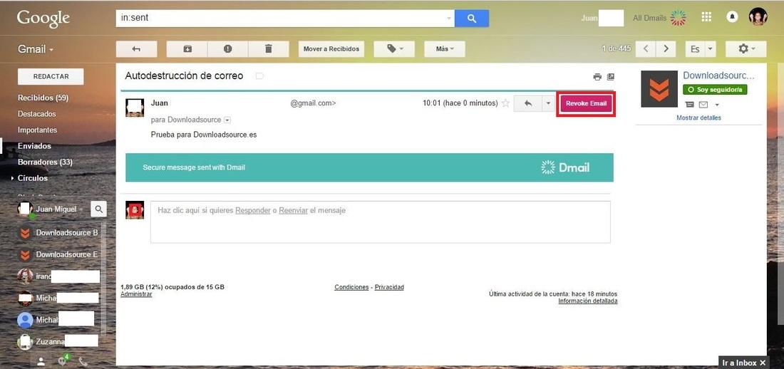 Come eliminare automaticamente i messaggi in Gmail 1