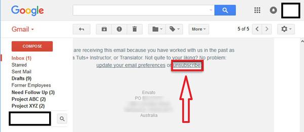 Come bloccare contatti e indirizzi nella posta Gmail ed evitare lo SPAM? Guida passo passo 16