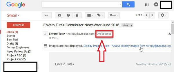 Come bloccare contatti e indirizzi nella posta Gmail ed evitare lo SPAM? Guida passo passo 17