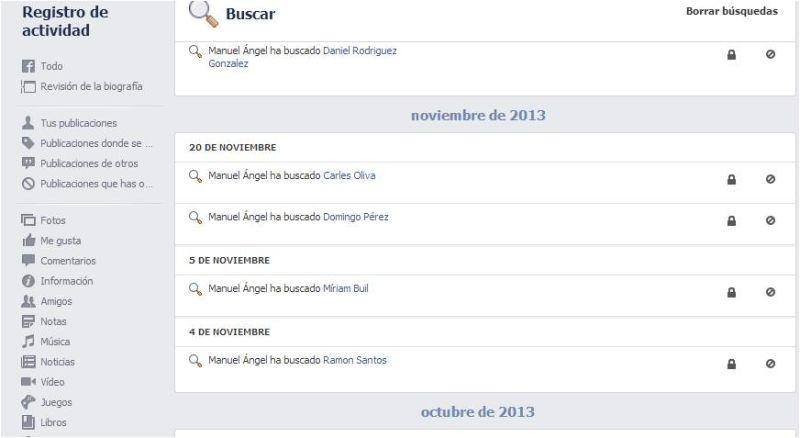 Come cancellare la cronologia delle ricerche di Facebook 1