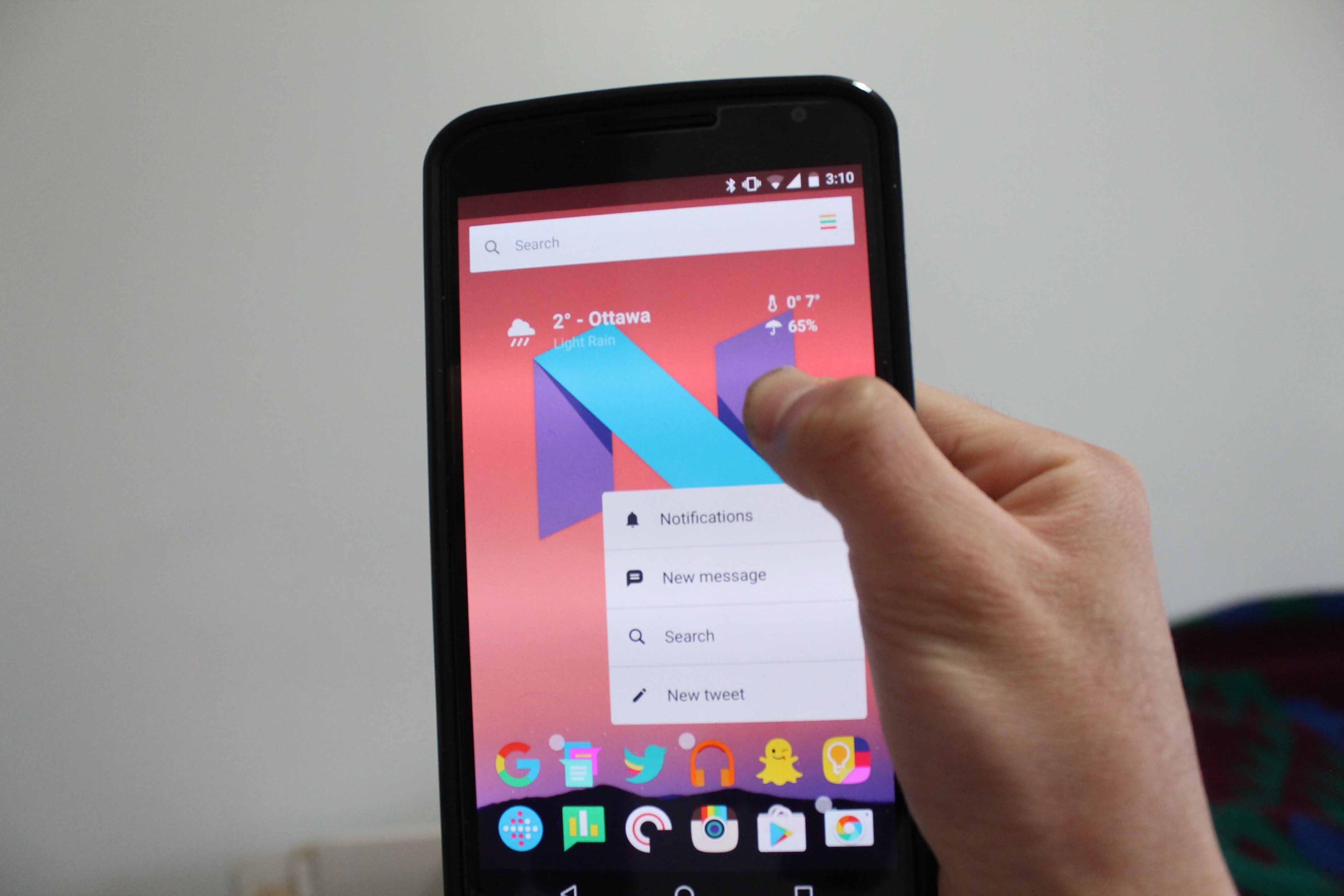 Come calibrare lo schermo di un telefono Android 1