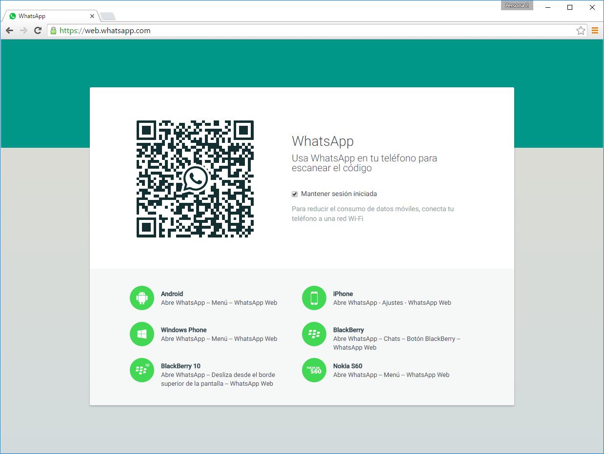 Come disconnettersi da WhatsApp Web 1