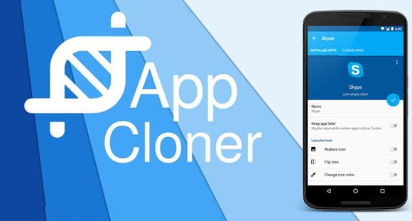 Come clonare WhatsApp con App Cloner 1