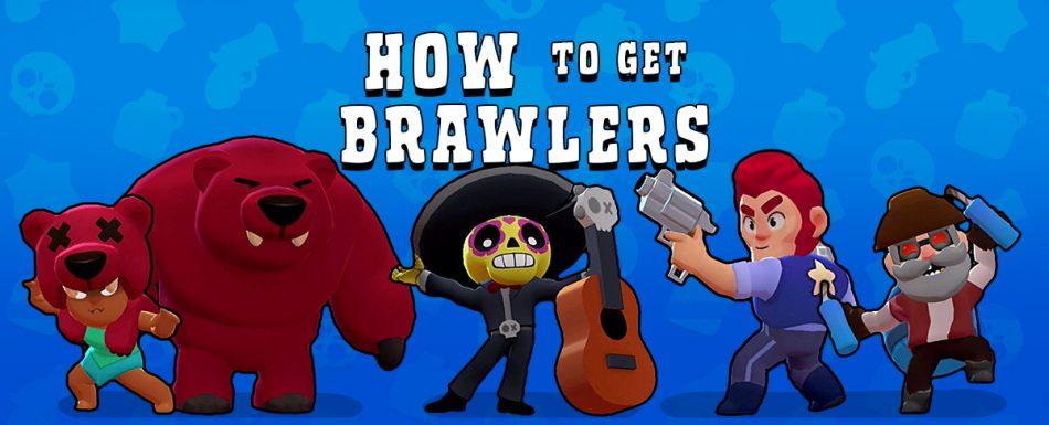 Come ottenere lottatori in Brawl Stars 1