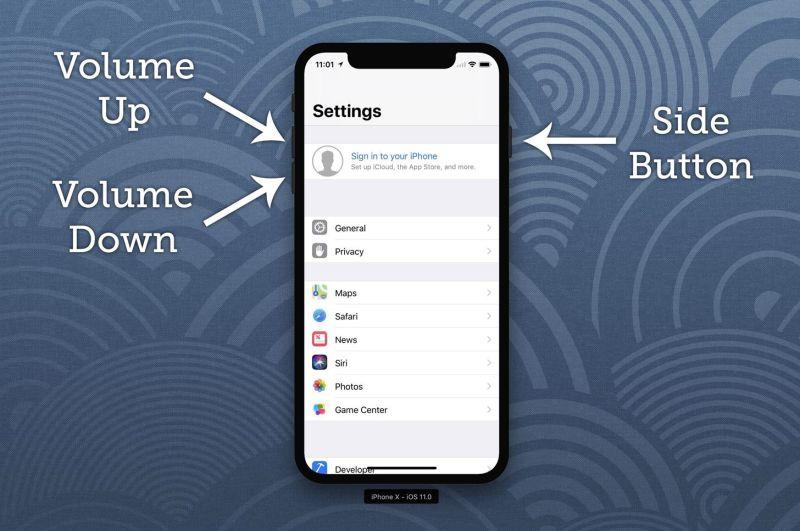 Come disabilitare Face ID su iPhone X in un secondo 1