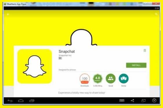 Come scaricare Snapchat per PC 1
