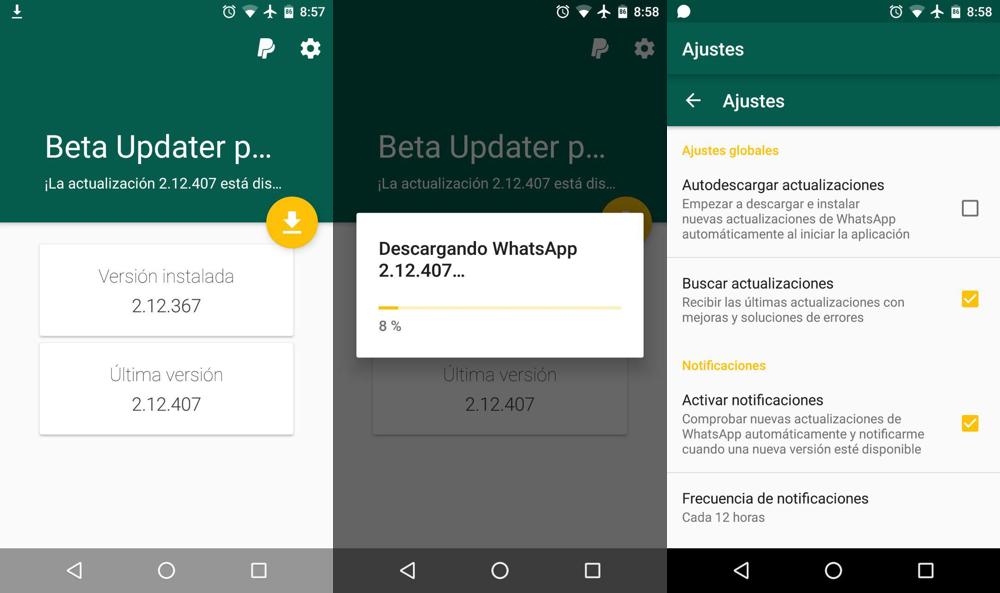 Come scaricare un nuovo aggiornamento di WhatsApp 1