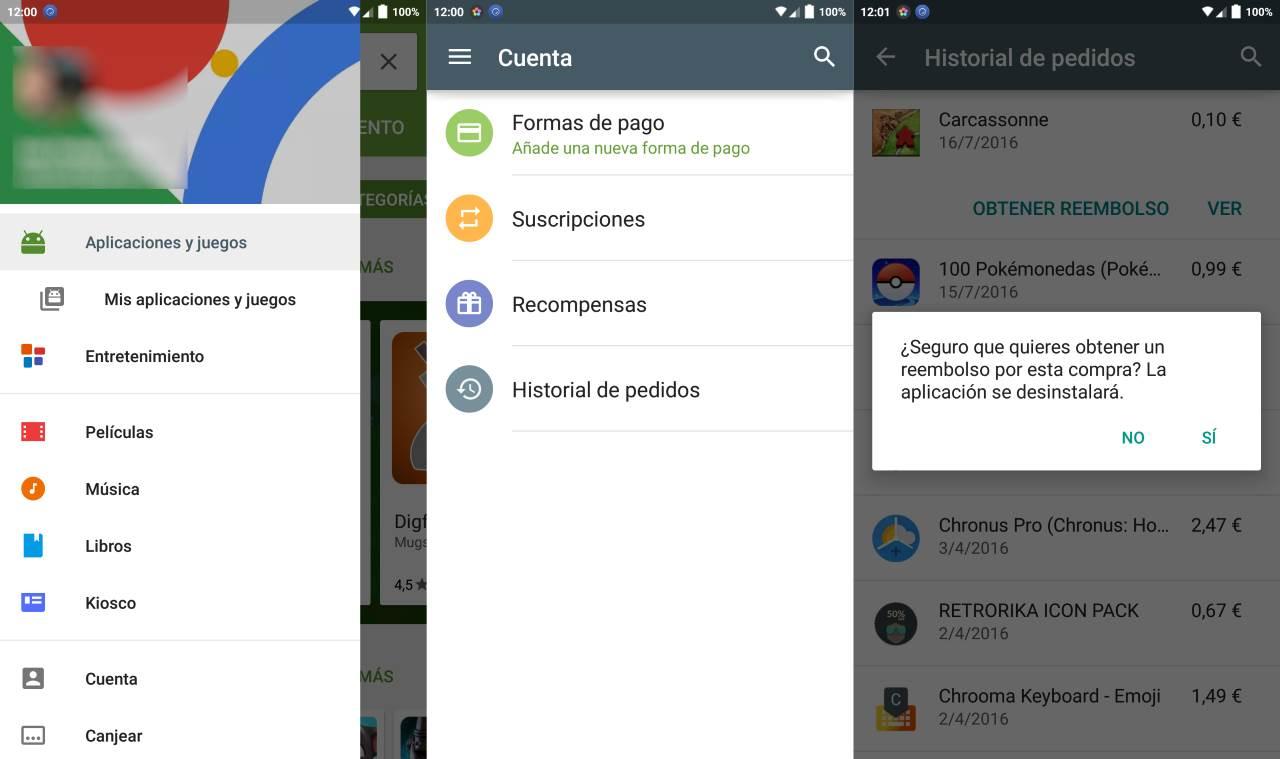 Come restituire app su Google Play e ottenere un rimborso 1
