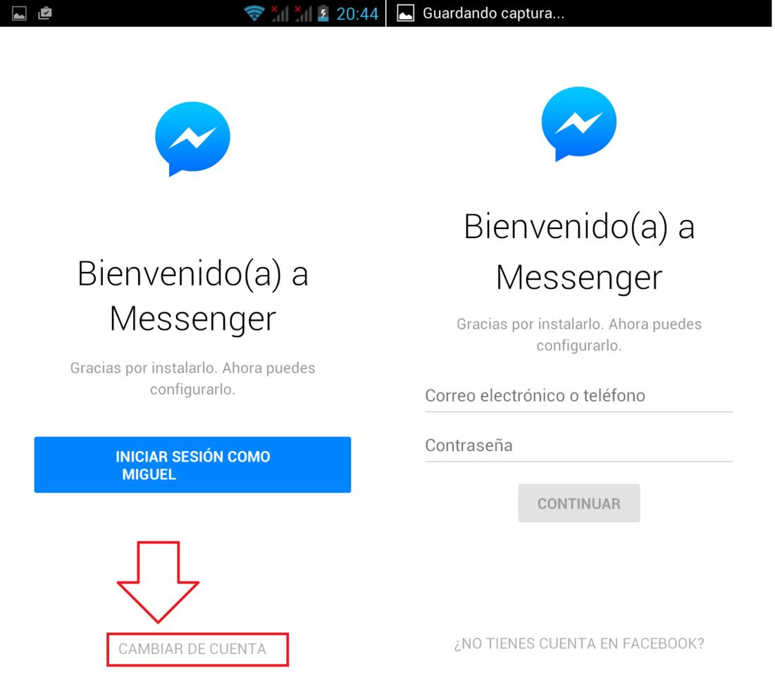 Come eliminare il messaggio Impossibile avviare Messenger 1
