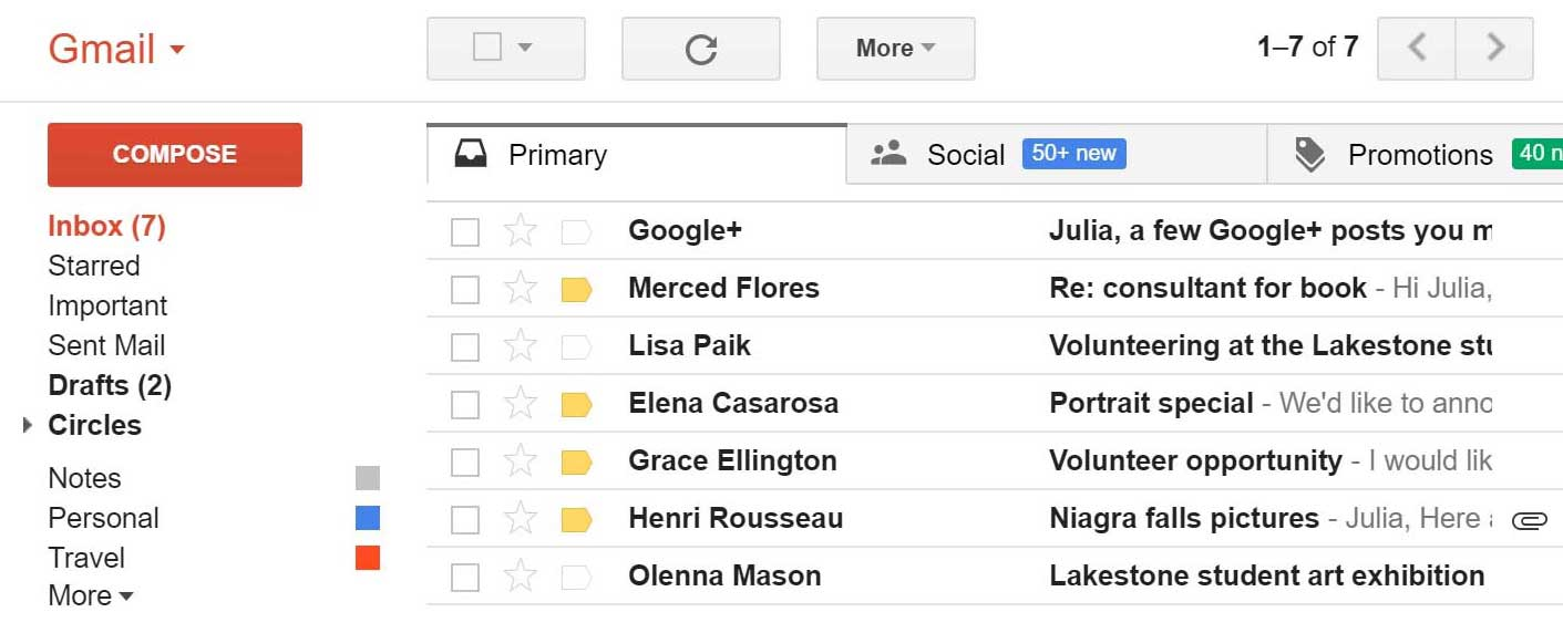 Come eliminare un account e-mail Gmail passo dopo passo 1