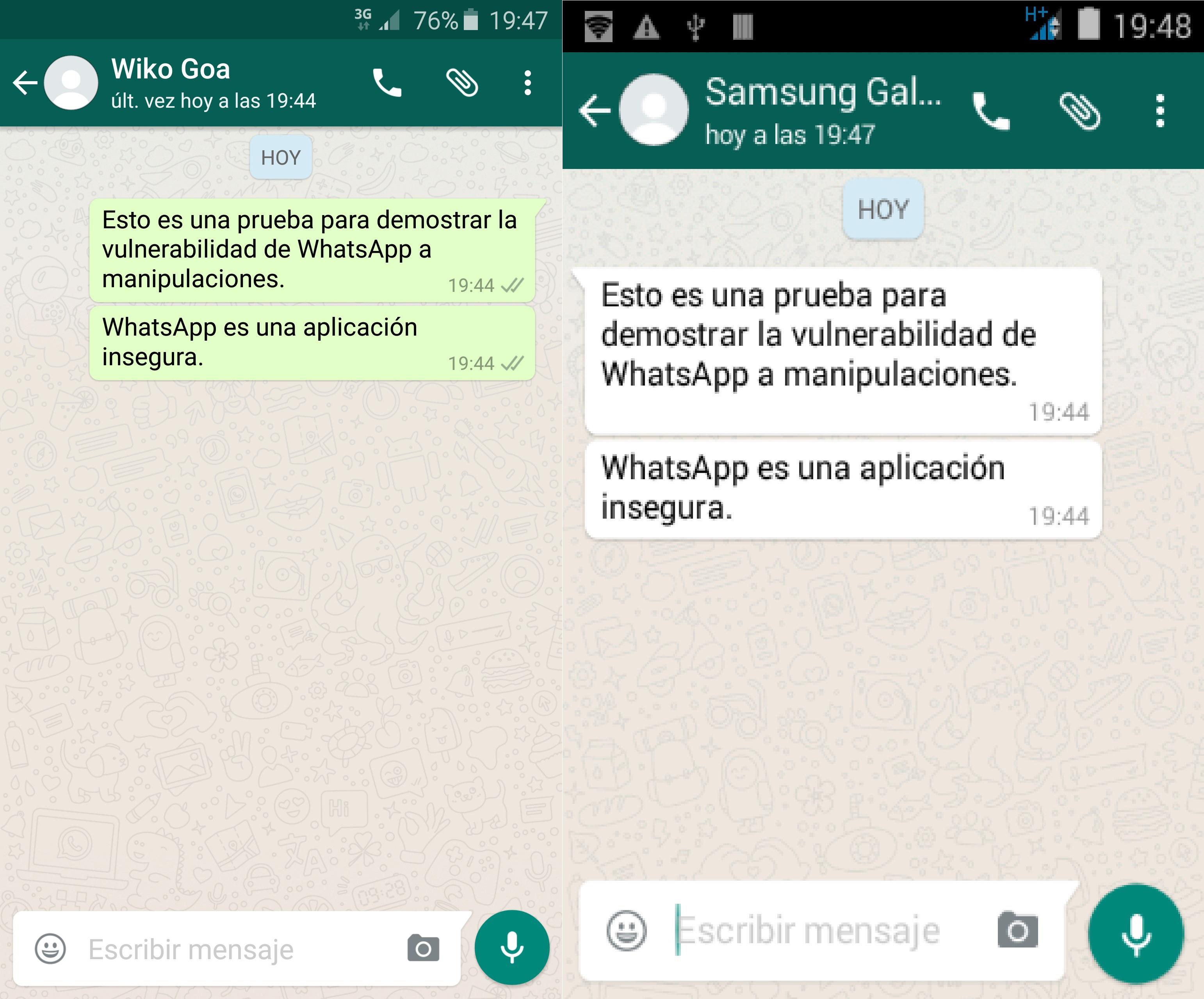 Come inviare un messaggio a un WhatsApp che mi ha bloccato? 1