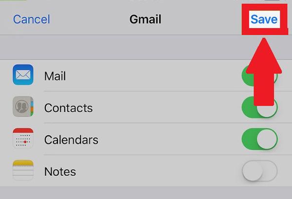 Come passare tutti i contatti del tuo telefono iPhone a Gmail? Guida passo passo 15