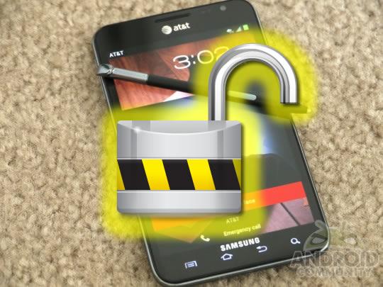 Come rilasciare il mio Samsung Galaxy 1