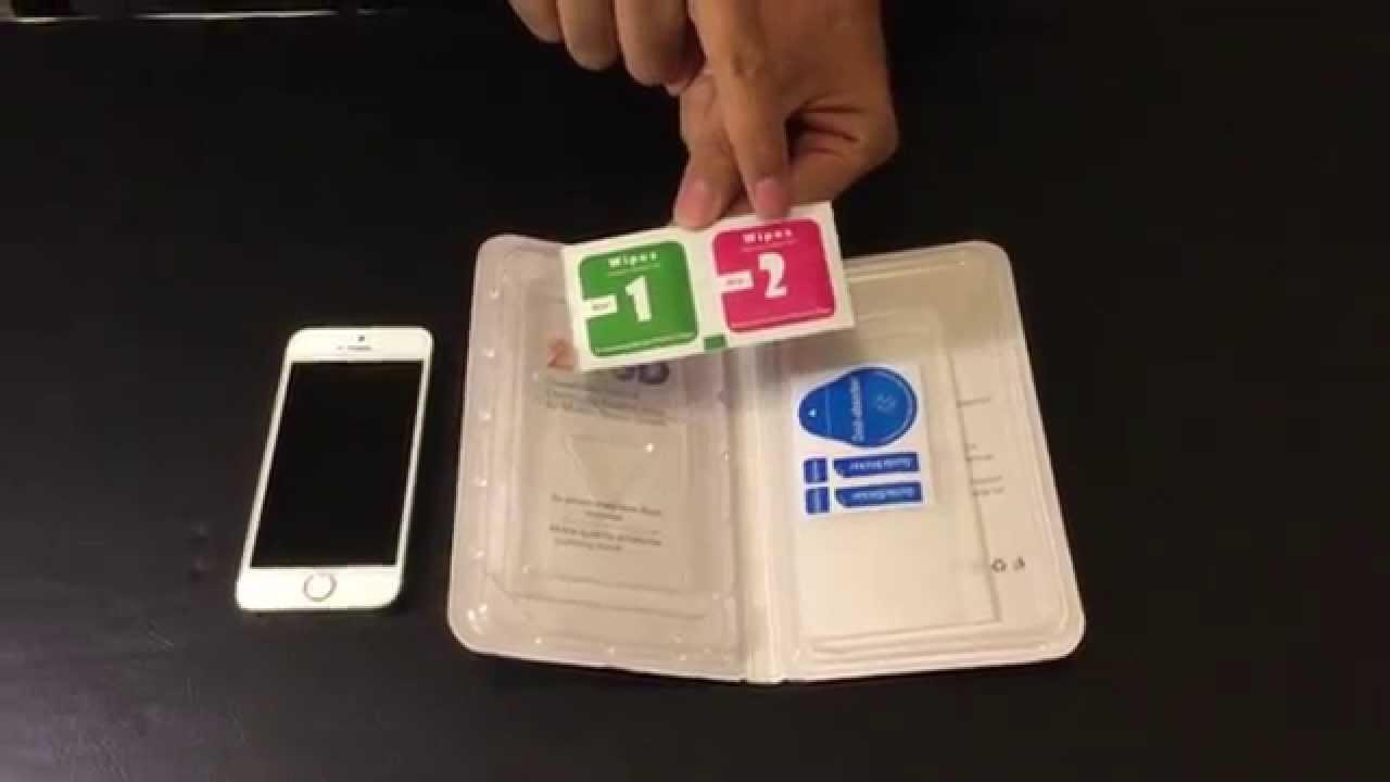 Come mettere il vetro temperato su un telefono cellulare 1
