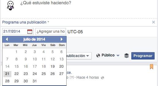 Come programmare un post di Facebook 1