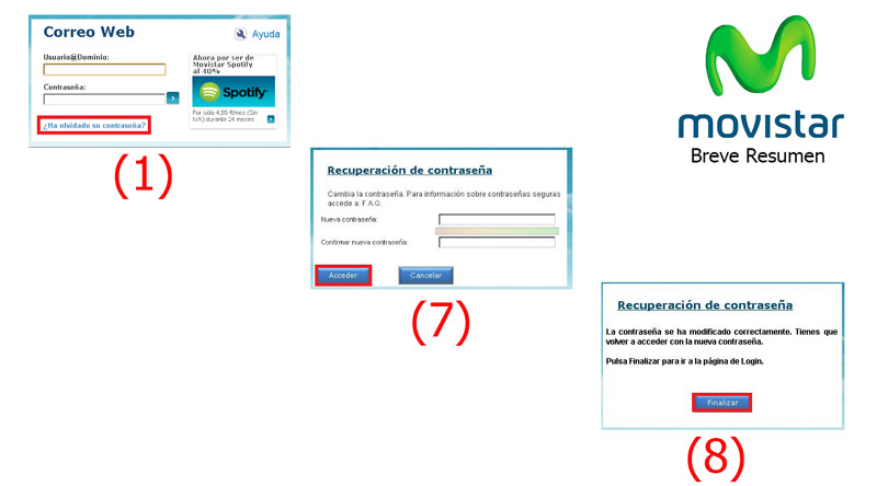 Come creare un account di posta elettronica Telefónica Movistar? Guida passo passo 7