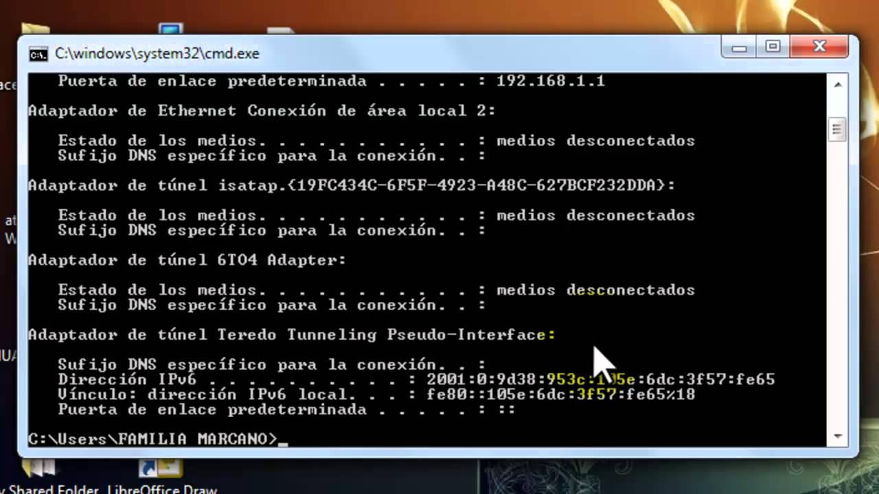 Come conoscere l'IP del mio computer 1